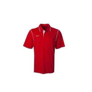 NWT Nike Mens Scarlet Red Gung Ho Polo Shirt S